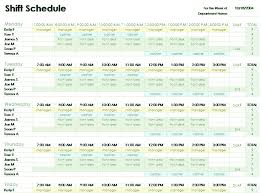 employee schedules templates employee shift schedules templates franklinfire co