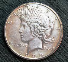 1925 S Peace Silver Dollar Coin Value Prices Photos Info