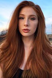 Natural Red Hair Chart Natural Redhead Redhair Longhair Discover The Red