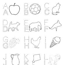 Preschool Alphabet Coloring Pages Alphabet N Coloring Sheets