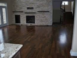 superb wood look tile flooring interior ideas with modern electric gas fireplaces with white marble countertop