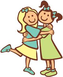 hug self clipart. clipart friends | tash to heart: empowered empower hug self l