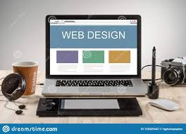 How Hard Is Web Design Hard Work Of A Web Designer Stock Image Image Of Desktop