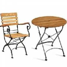 folding outdoor tables chairs bistro sets