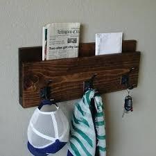 Coat Rack Mail Organizer Coat Rack Mail Organizer Modern Rustic Entryway 100 Hanger Hook Coat 31