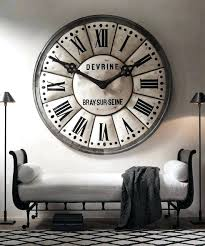 big wall clocks love the idea of an oversized wall clock like this one from would fit big wall clocks for in india