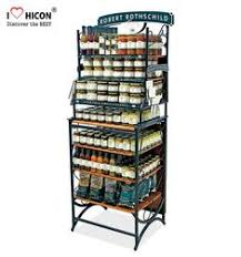 Coffee Shop Display Stands Source Merchandising Metal Freestand Coffee Shop Display Equipment 50