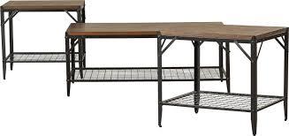 ravishing t austin design moraga 3 piece coffee table set reviews saturn moraga3piececoffeetab oak domayne