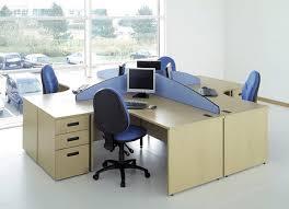 office workstation desks. ID: HT WS20, Minimalist Workstation Desk Office Desks