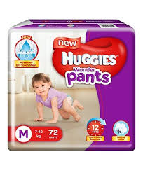 huggies size 7 huggies wonder pants medium size pant style diapers 72 pieces online