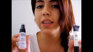 make up for ever review hd primer mist fix travel size you