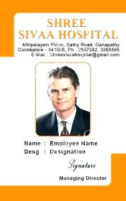 Work Identity Card Staff Badge Template Creative Office Identity Card Template Staff Id