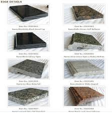 quartz countertop edge types quartz quartz countertop edge choices