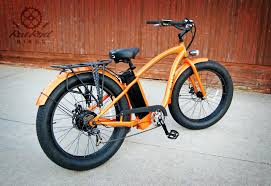 e fat tire electric cruiser bike rat rod bikes excellent large