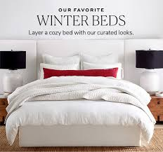 our favorite winter beds pottery barn