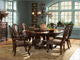 round dining room tables with leaves vintage brown wood furniture dining room pedestal table modern cream
