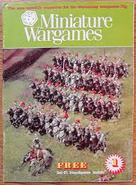 Image result for miniature wargames magazine number 1