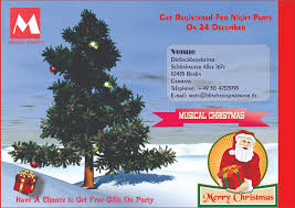 Free Printable Christmas Party Invitations Templates Demplates
