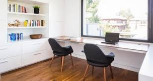long desks for home office. cool dark chairs with white long desk in small home office design desks for