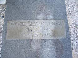 Maude Mosley Dowd (1899-1975) - Find A Grave Memorial