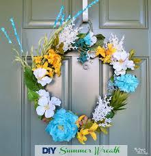 summer wreath supplies