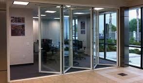office division with bi folding doors in los angeles