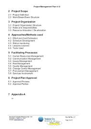 Change Management Plan Template Doc Project Risk – Willconway.co