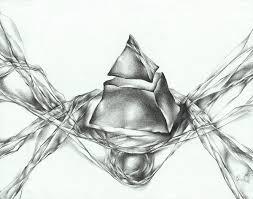 abstract drawing abstract pencil drawing original abstract drawing