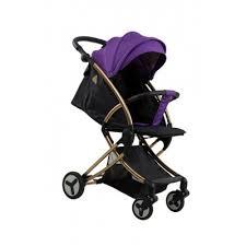 <b>Коляска</b> детская <b>прогулочная Aimile</b> Summer Gold фиолетово ...