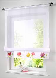 Rustikalen Raffrollos Küche Vorhänge Fenster Screening Kaffee