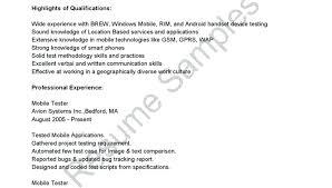 Manual Testing Sample Resumes Best of Sample Qa Tester Resume Manual Tester Sample Resume Luxury Testing
