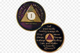 alcoholics anonymous narcotics anonymous sobriety coin charms pendants gold 50 year anniversary png 600 599 free transpa alcoholics