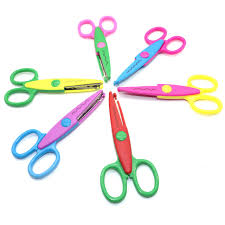 Pattern Scissors Delectable 48 Pc Handmade Children DIY 48 Patterns Album Lace Scissors Card Photo
