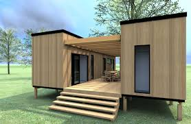 How To Build Storage Container Homes Two 40ft Containers Set Parallel To Each Other Separating The