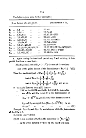 a page from ramanujan s first published paper