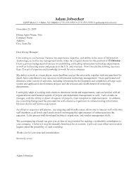 Proper Cover Letter Format Resume Badak