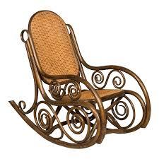 bentwood rocking chair vintage