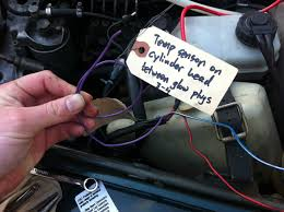 i present to you an oddity on american shores my 1980 mercedes was modified ignition lock was replaced a diesel one and all vacuum lines were connected for engine shut off an off brand glow plug relay the