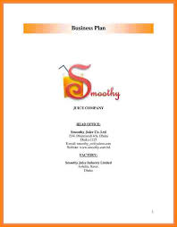Proposal Cover Sheet Template Cover Sheet For A Business Plan 1 Sponsorship Proposal