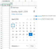 Excel Calendar Monthly How To Insert Calendar In Excel Date Picker Printable Calendar