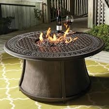 round gas fire pit table. Gas Fire Pit Table Crystal Burner Large Pits Enclosed Coffee Round Colonial Insert Area Modern Steel Contemporary Outdoor Mid Century