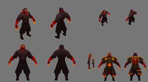 ember spirit concept set dota 2 wallpapers hd download desktop