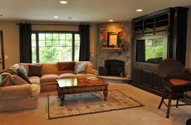 living room ideas with corner fireplace and tv sets design shelves rectangle on living room