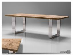 Stainless Steel Dining Table With Glass Top Home Design Ideas