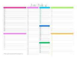 Packing List For Vacation Template Blank Vacation Packing List Template Lifehacked1st Com