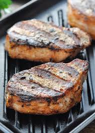 perfect 15 minute grilled pork chops