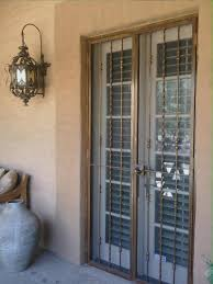 metal security screen doors. Beautiful Patio Door Security Gate Metal Screen Doors .