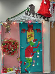 christmas decorations for office. The Grinch Who Stole Christmas Door Decor · DecorationsOffice Decorations For Office N