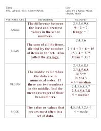 What Is Mean Median Mode And Range In Math Espace Verandas Com