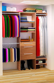 plans to build a custom closet organizer for wide reach in closets